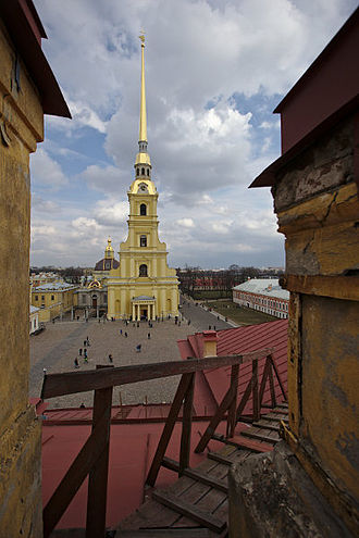 Saints Peter and Paul Cathedral, Saint Petersburg - Peter and Paul Cathedral.