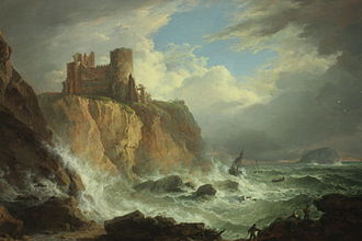 Alexander Nasmyth - Image: View of Tantallon Castle and the Bass Rock by Alexander Nasmyth, NGS