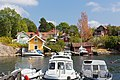 View over Norrhamnen from the western shore, Vaxholm, Photo 1.jpg