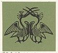 Vignet met twee exotische vogels, RP-P-OB-16.628.jpg