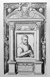 Giacomo Barozzi da Vignola Italian architect