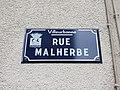 Villeurbanne - Rue Malherbe - Plaque (mars 2019).jpg