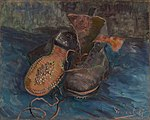 Vincent van Gogh - A Pair of Boots, 1887 (Baltimore Museum of Art).jpg