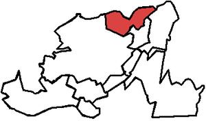 Virginia Waters (electoral district) - Image: Virginia Waters