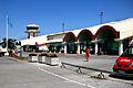Visby flygplats ingången från parkeringen Visby Sweden.jpg