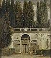 Vista del jardín de la Villa Medici en Roma, por Diego Velázquez.jpg