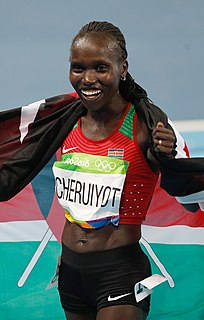 Vivian Cheruiyot Kenyan long-distance runner