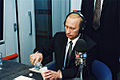 Vladimir Putin in the United States 13-16 November 2001-49.jpg