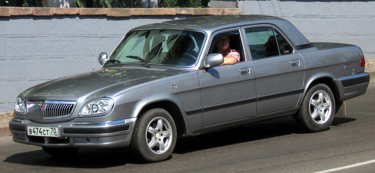 Shortened Cars >> GAZ Volga - Wikipedia