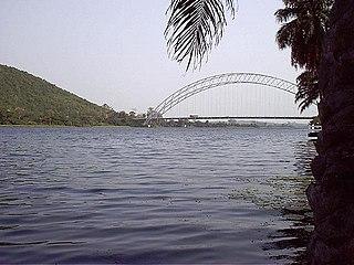 Volta River river in Ghana