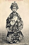 Duy Tân as a child