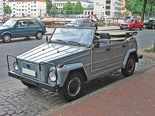 Volkswagen 181 car model