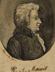 W.A.Mozart - Álbum M A B A D - Prancha N.8 A