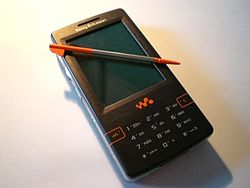 Image illustrative de l'article Sony Ericsson W950i