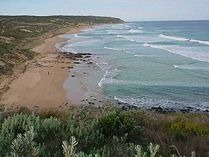 Heysen Trail - Waitpinga Beach, a part of the southernmost reach of the trail