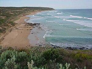 Waitpinga, South Australia - Waitpinga beach viewed from the Heysen Trail