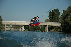 Image illustrative de l'article Wakeboard