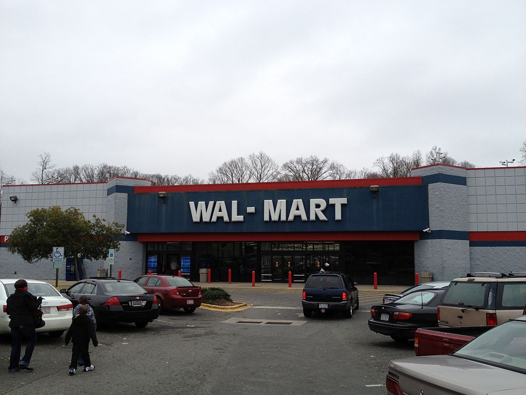 """wal mart vs k mart """"i used to go to stores with sam 40 years ago, when wal-mart was a little variety  store and kmart was a monster,"""" says howard davidowitz,."""