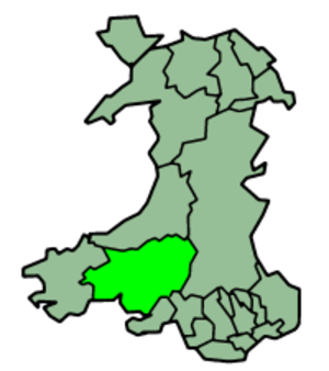 Carmarthenshire County Council - Image: Wales Carmarthenshire