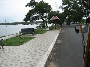 Cherai Beach - Image: Walk Way Cherai