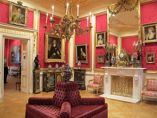 Wallace collection, interno