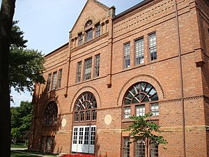 Simpson College - Wallace Hall (formerly Science Hall) housed George Washington Carver's first college classrooms.