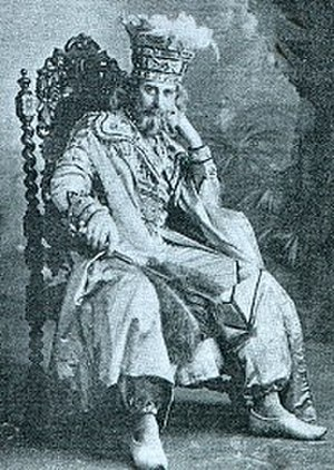 Wallace Brownlow - Brownlow as The Sultan in The Rose of Persia