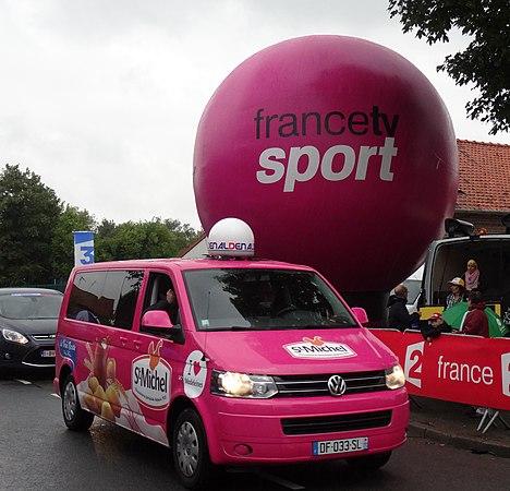 Wallers - Tour de France, étape 5, 9 juillet 2014, arrivée (A67).JPG