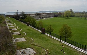 1st Battalion Massachusetts Volunteer Heavy Artillery - The parade ground of Fort Warren