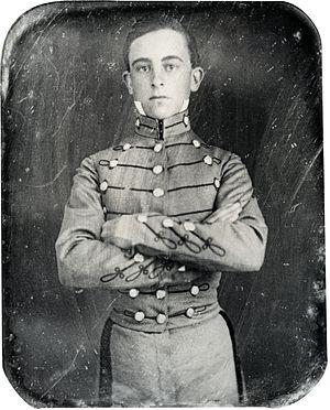Walter H. Taylor - Taylor as a VMI cadet
