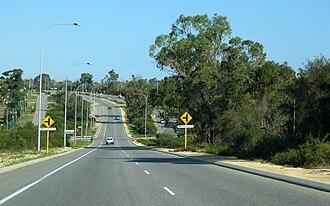 Wanneroo Road - Image: Wanneroo Road 339 S Nowergup Wattle