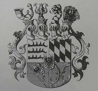 Duchy of Bernstadt - Coat of arms of the House of Württemberg-Oels, Siebmachers Wappenbuch, 1856