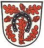 Coat of arms of the former city of Mörfelden