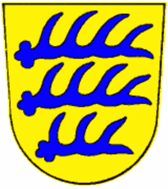 Stockach - Arms of the Counts of Nellenburg (extinct 1422)