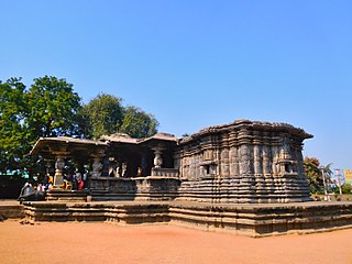 Thousand Pillar Temple temple in Hanamkonda in Warangal District in Andhra Pradesh