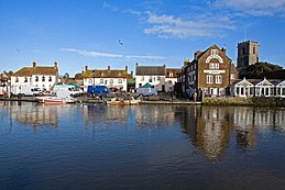 Wareham Saturday Market by River Frome - geograph.org.uk - 316307.jpg