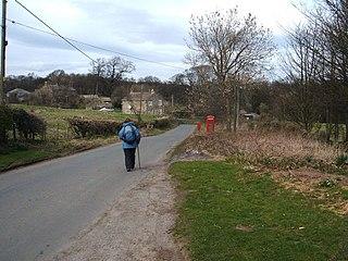 Warthermarske Hamlet in North Yorkshire, England