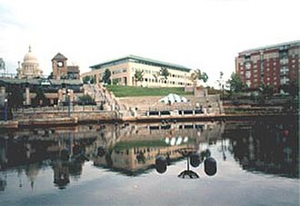 Waterplace Park - Image: Water Place Providence