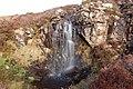 Waterfall above Madragil - geograph.org.uk - 348307.jpg