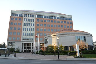 Galt, Ontario - Region of Waterloo Headquarters in Kitchener