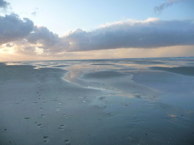 Das Wattenmeer bei Juist