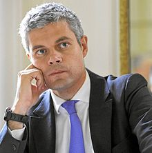 Laurent Wauquiez, en septembre 2010.