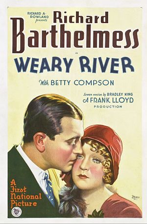 Weary River - theatrical release poster
