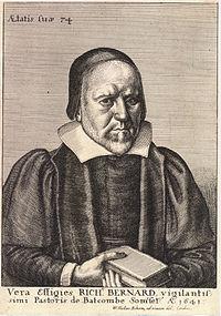 Wenceslas Hollar - Richard Bernard (State 1).jpg