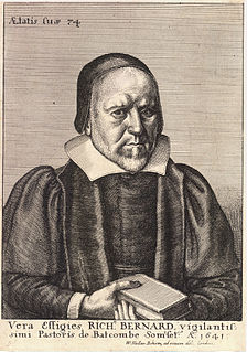 Richard Bernard English clergyman