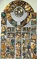 Wernberg Kloster Innenhof Wandtafel mit Bilderreliefs 16082008 66.jpg