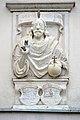 Wernberg Klosterweg 2 Schlosskirche Zum kostbaren Blut Salvatorrelief über Eingang 14112014 918.jpg
