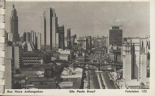 Rua Nova Anhangabaú - São Paulo - Brazil