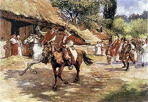 """The Wedding (1901 play) - """"Wesele"""" by Włodzimierz Tetmajer"""