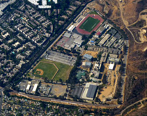 West Los Angeles College - Aerial view of the campus.
